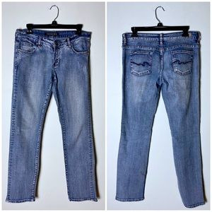 Pepe Jeans Light Wash Boot Cut Distressed Jeans 29